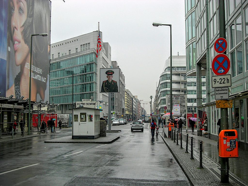 På sporet af Berlinmuren