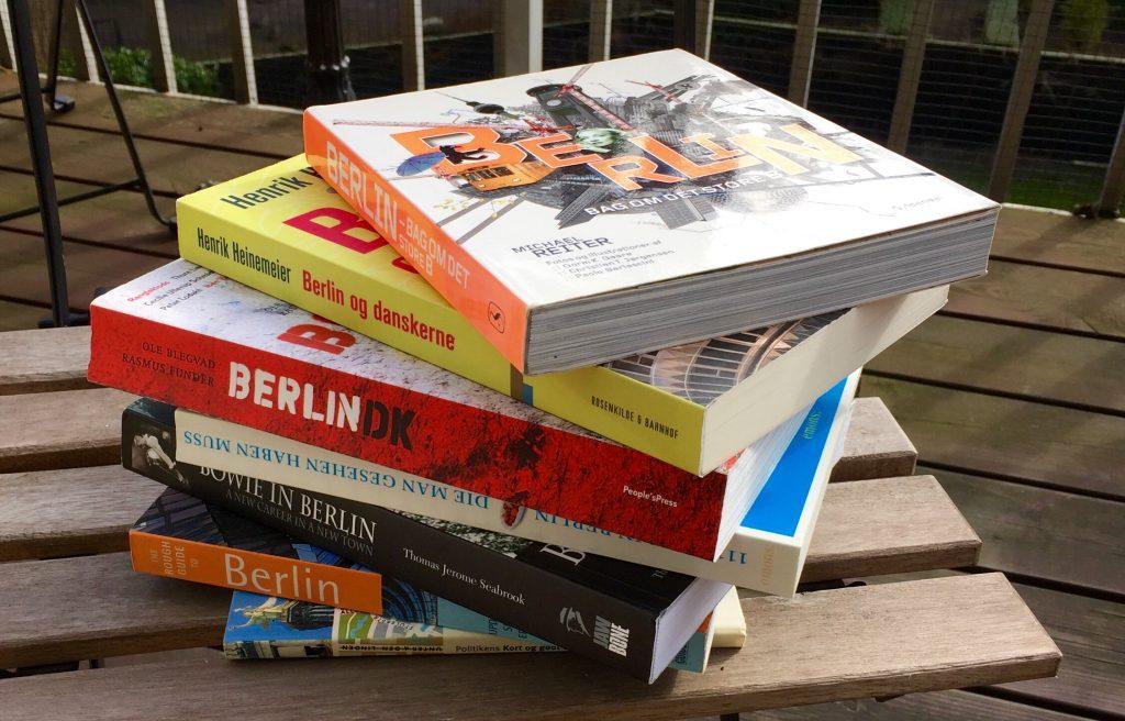 Et par gode bøger om Berlin
