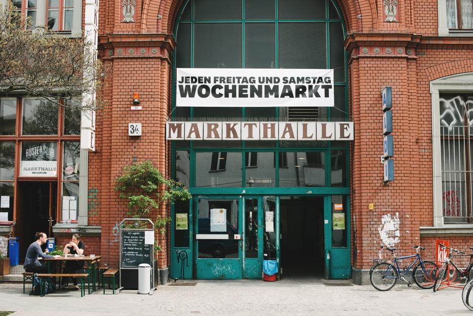 Markthalle – Berlins torvehaller