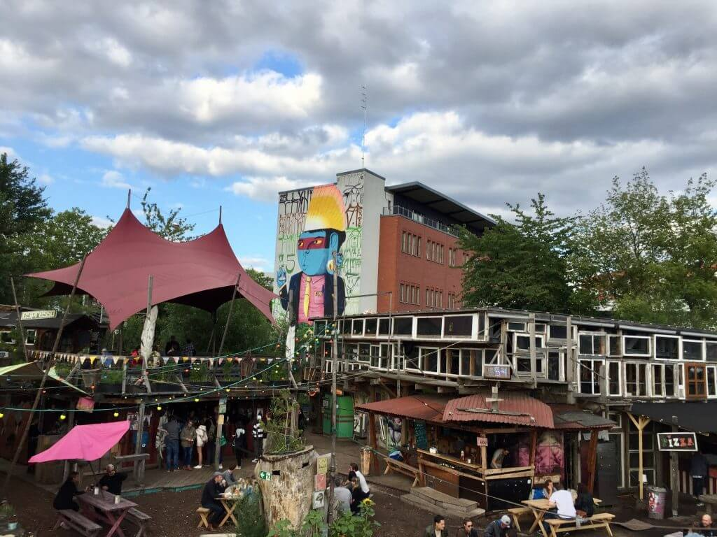 Holzmarkt – frirum med urban kreativitet midt i Berlin
