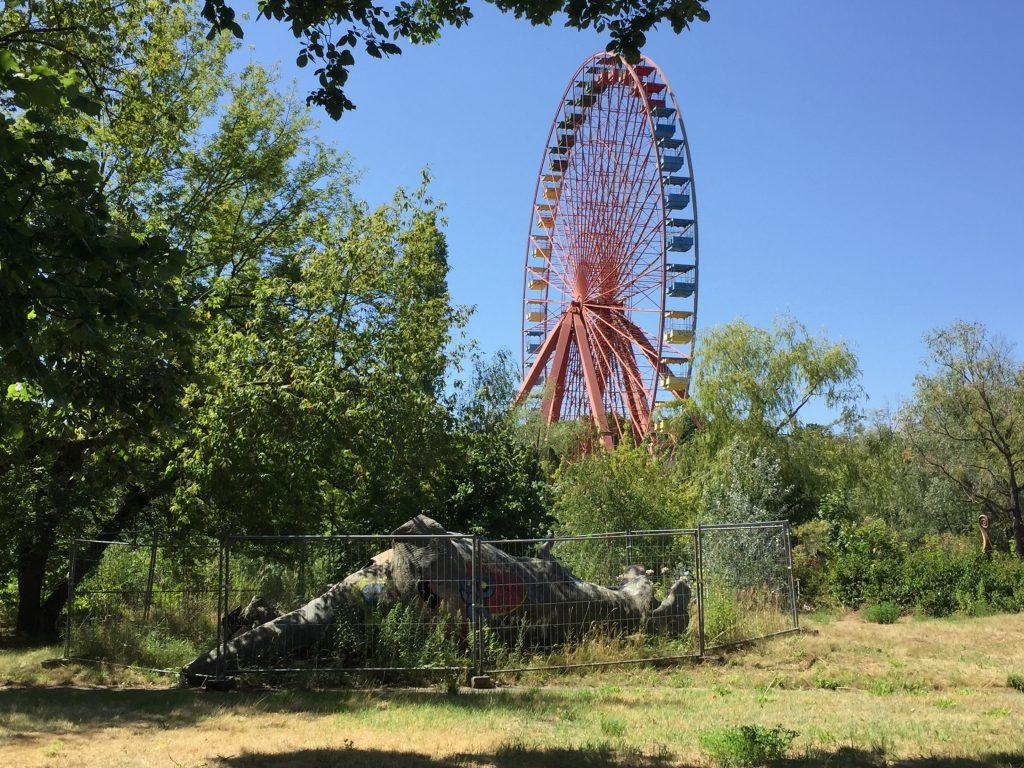 Den forladte forlystelsespark Spreepark