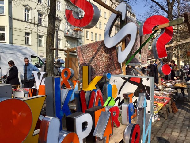 Gør et fund på loppemarked i Berlin