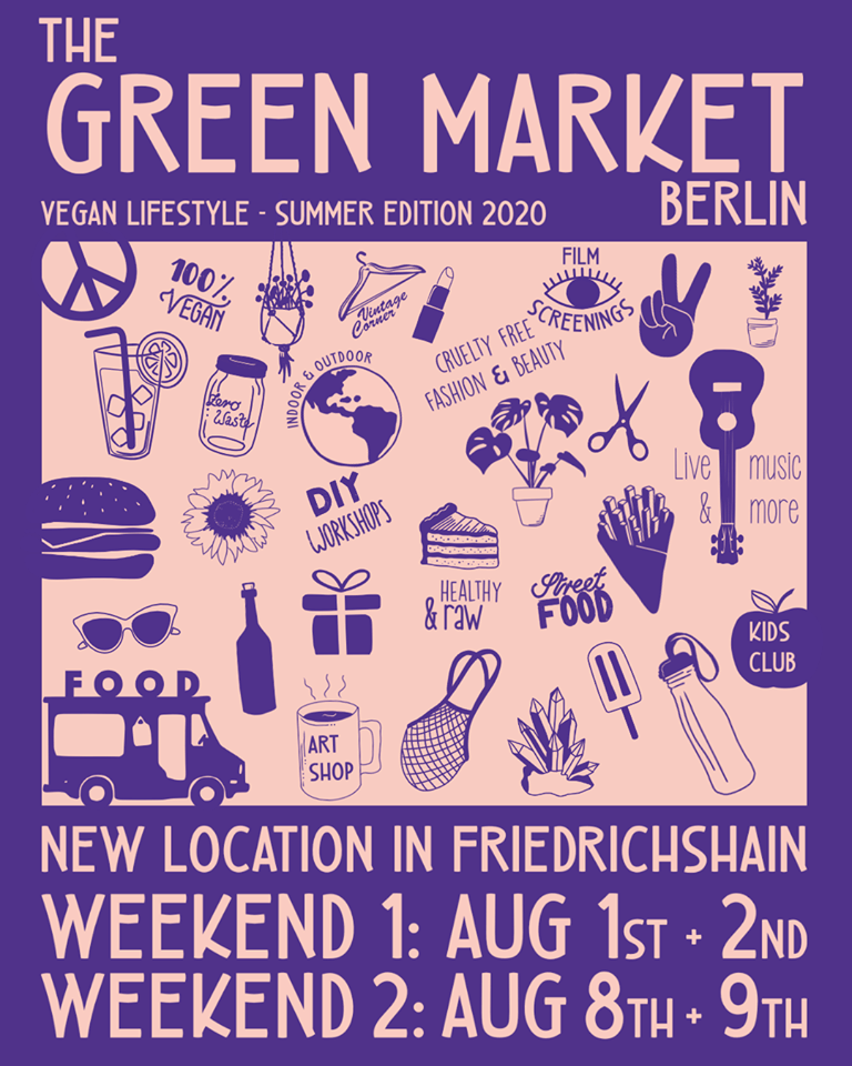 Green Market Berlin veganermarked