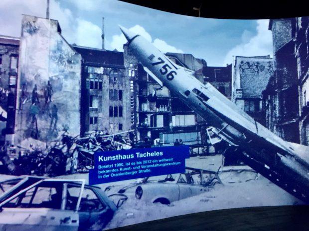 Udstillingen om Berlin i 1990'erne er lukket