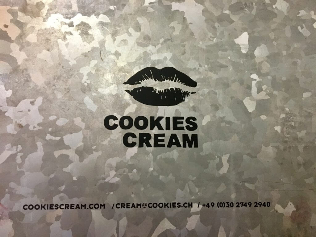Cookies Cream Michelin-restaurant